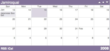 jamiroquai calendar