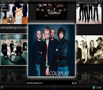 Cooliris - google image screen grab