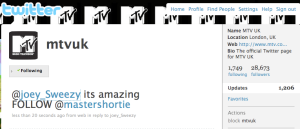 Master Shortie MTV Twitterview